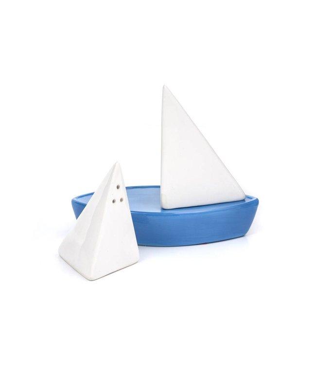 Kikkerland Peper & zout Zeilboot