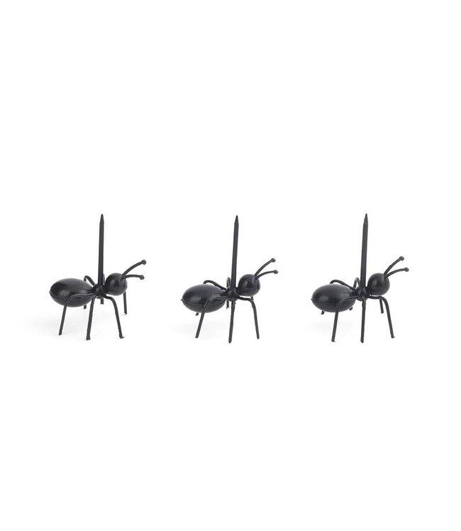 Kikkerland Mieren cocktailprikkers