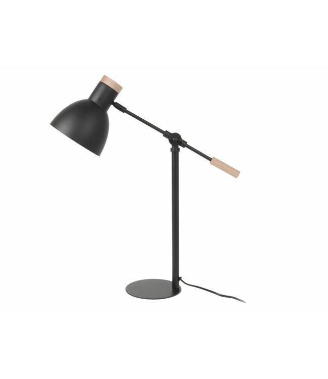 Leitmotiv Tafellamp Stark zwart