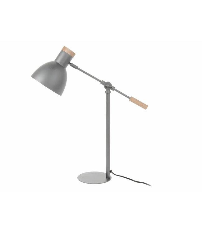 Leitmotiv Tafellamp Stark grijs