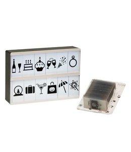Fisura 90 symbolen voor lightbox
