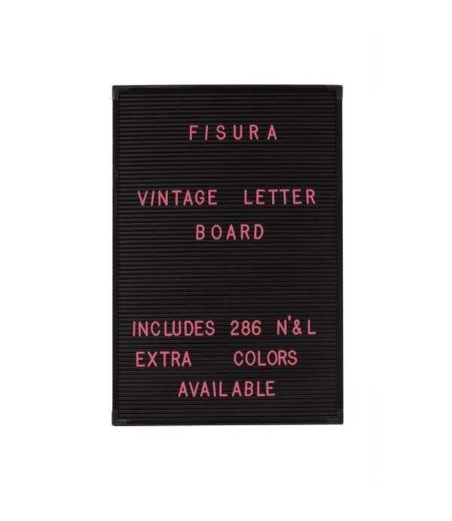 Fisura Roze letters voor letterbord