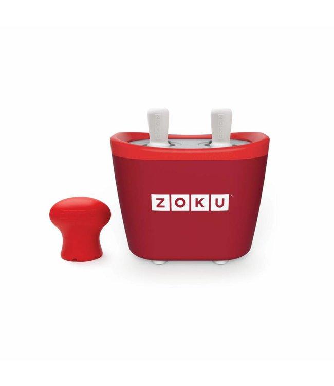 Zoku Quick Pop Maker Duo rood