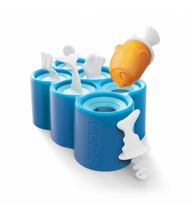Zoku Icelolly maker Fish 6 stuks
