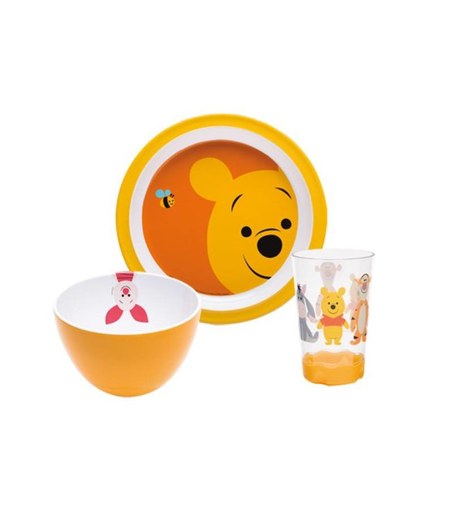Zak! Designs Disney Pooh ontbijtset