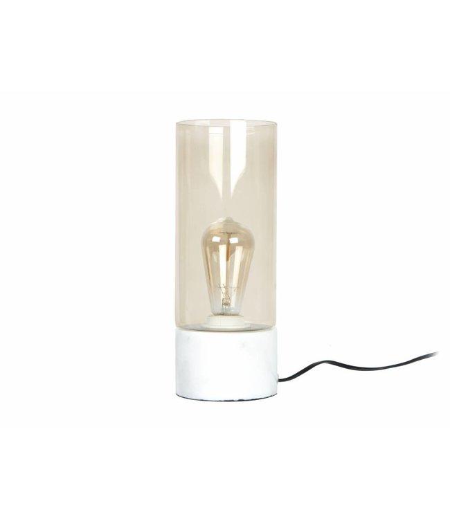 Leitmotiv Tafellamp Lax marmer incl. lamp