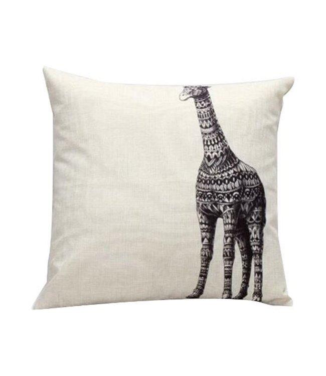 Kussen Giraf 45x45 cm
