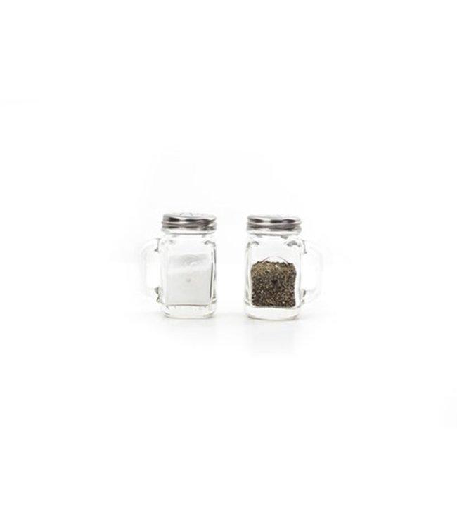 Kikkerland Peper & zout Mason Jars