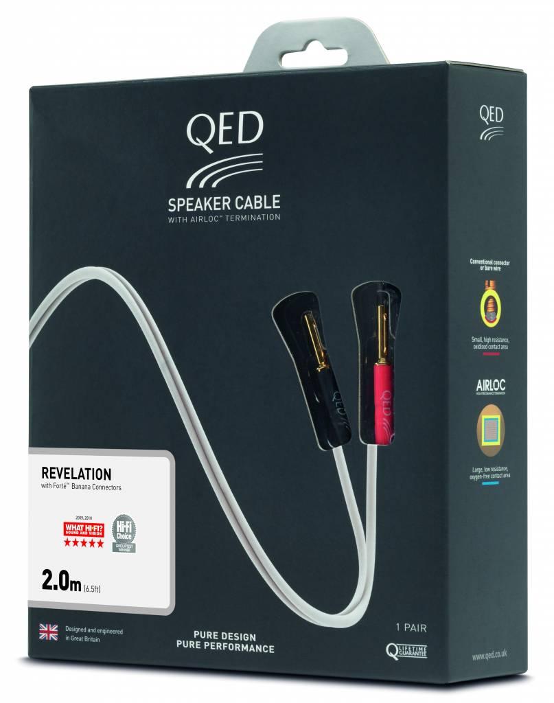 QED Signature Revelation Speaker Cable (2 x 3 meter)