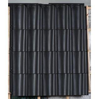 dakpan OVH 206 zwart glazura Monier