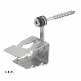 hoekkeperklem 512/2 met torx schroef RVS-doos a 50 st.