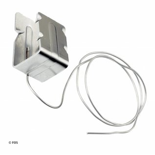 hoekkeperklem 513/3 met RVS draad (doos à 50 stuks)