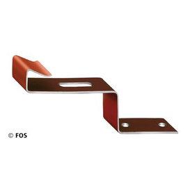 vorsthaken 470/117 aluminium bruin