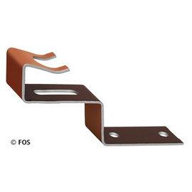 vorsthaken 470/131 aluminium bruin-doos a 50 st.