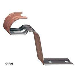 vorsthaken 470/163 aluminium bruin