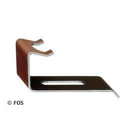 vorsthaken 470/166 aluminium bruin-doos a 50 st.