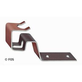 vorsthaken 470/172 aluminium bruin-doos a 50 st.