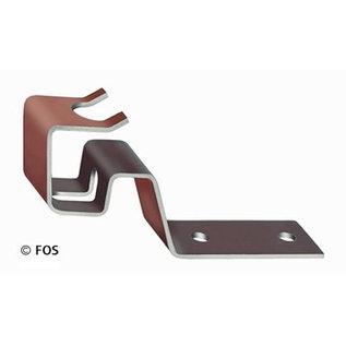 vorsthaken 470/172 aluminium bruin (doos à 50 stuks)