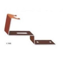 vorsthaken  470/219 aluminium bruin