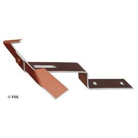 vorsthaken 470/200 aluminium rood of zwart-doos a 50 st.