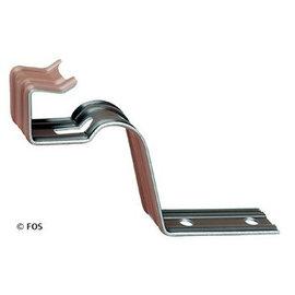 vorsthaken 470/083 aluminium rood of zwart-doos a 50 st.