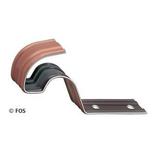 vorsthaken  470/024 aluminium rood of zwart (doos à 50 stuks)