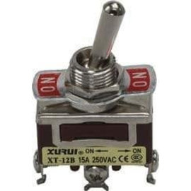 Ohmeron Large Toggle Switch enkelpolig on-on