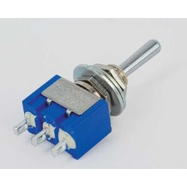 Miyama Toggle switch enkelpolig on-off-(on)