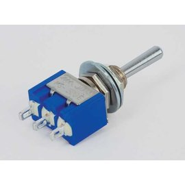 Miyama Toggle Switch Enkelpolig (on)-off-(on)