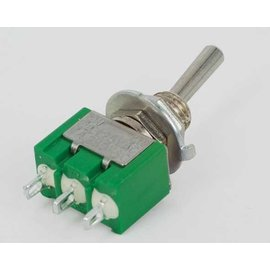 Miyama Toggle Switch enkelpolig on-on - economy