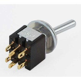 Miyama Mini Toggle Switch enkelpolig on-on