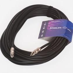 Kirlin 2 x 1 RCA plug 20mtr