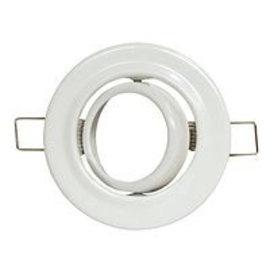 Halogeenspot MR-16 90mm zwenkbaar wit