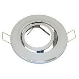 Halogeenspot MR16 90mm  zwenkbaar chrome