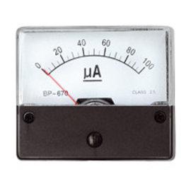 Paneelmeter 0-100uA DC