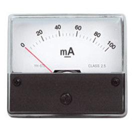 Paneelmeter 0-100mA DC