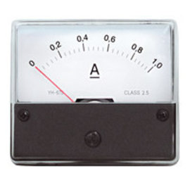 Paneelmeter 0-1A DC