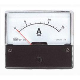 Paneelmeter 0-15A DC