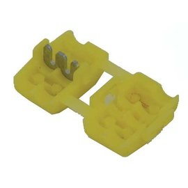 Ohmeron Quick splice - stroomdiefje geel - 100x
