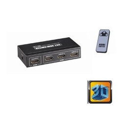Ohmeron Compacte HDMI switch 3x1