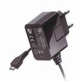 Ohmeron 5V 1A mini USB voeding met mini USB kabel