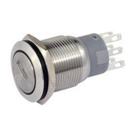 Sintron Connect 2P sleutelschakelaar 19mm