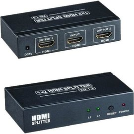 Ohmeron Mini HDMI 1*2 splitter 4K*2K