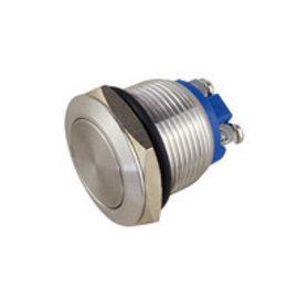 Sintron Connect Metalen drukknop vlak 19mm 250V