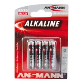 Ansmann Alkaline / Micro AAA 4 delig