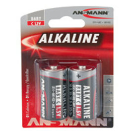 Ansmann Alkaline / Baby C 2 delig