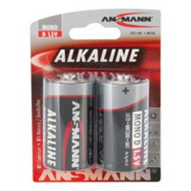 Ansmann Alkaline / Mono D  2 delig