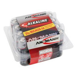 Ansmann Alkaline / Mignon AA  20 delig
