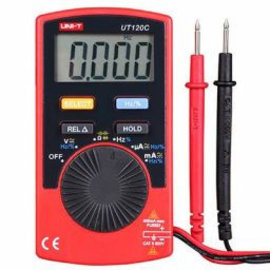 UNI-T 3 3/4 Digitale multimeter-zakformaat - auto range