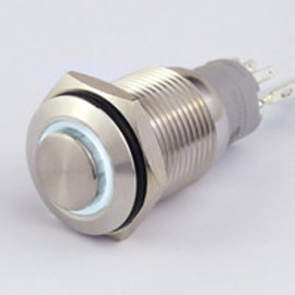 Sintron Connect Drukknop 16mm wit 4-12V
